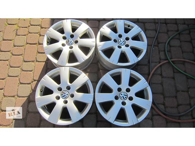 Б/у диск для легкового авто Volkswagen- объявление о продаже  в Бродах (Львовской обл.)
