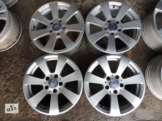 продам Б/у диск для  Mercedes R16 5x112 7 et43 W204 E C Audi A4 A6 A8 VW Passat Superb Vito бу в Львове