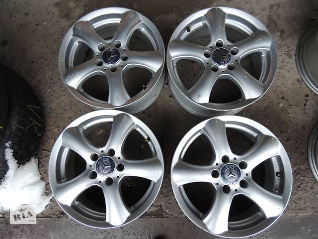 продам Б/у диск для Mercedes R16 5x112 7j ET43 C E Vito 638 639 W204 Audi A4 Skoda Superb бу в Львове