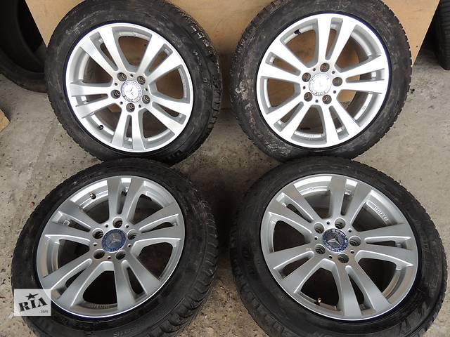 купить бу Б/у диск для Mercedes R16 5x112 7j et45 W203 W208 W210 W211 Volkswagen Passat Audi в Львове