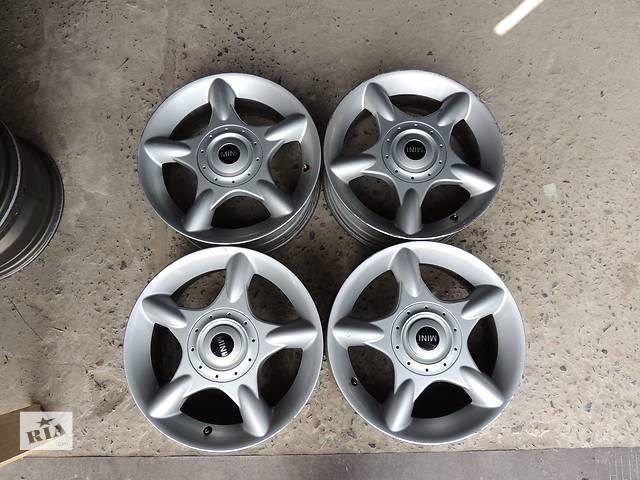 купить бу Б/у диск для MINI R16 4x100 6,5j et48 Мини Купер Cooper Toyota Kia Mazda в Львове