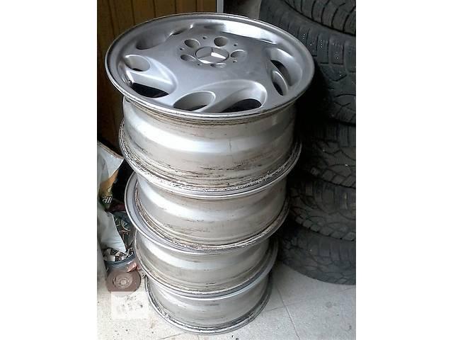 продам Литые б/у диски фирмы RONAL 020220 из Германии  Mercedes Вито - A638.639, без пробега по СНГ R16 7j16h2 et55 dia76, 6mm бу в Белой Церкви