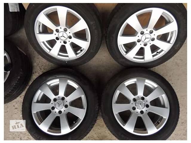 продам Б/у диск Mercedes №2 (original) R16 5x112 7j et43 Мерседес W204 Vito E C VW бу в Львове