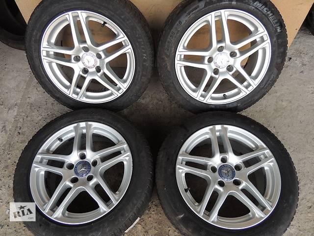 купить бу Б/у диск Mercedes R16 5x112 7.5 j et42 Vito E C Viano 639 Audi Q5 Q3 Skoda VW в Львове