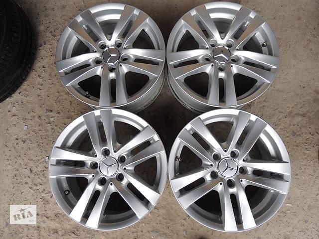 Б/у диск MERCEDES R16 5x112 7j et43 C E W211 W169 Мерседес Вито Vito Viano VW- объявление о продаже  в Львове