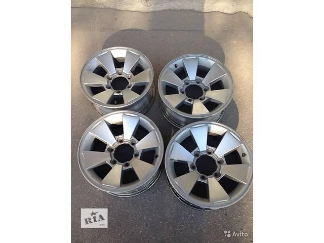 Б/у диск  MitsubishiОригинальные диски Mitsubishi PajeroSport.L200 6X139.7 16J7 ET10- объявление о продаже  в Киеве