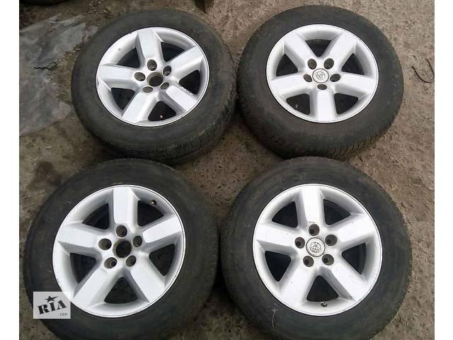 Б/у диски R16 7J PCD 5*114,3 ET35 DIA 60,1 42611-42140 для кроссовера Toyota Rav 4 2002- объявление о продаже  в Николаеве