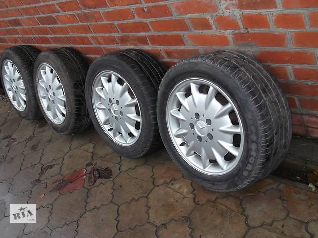 бу Б/у диск R16 с шиной для легкового авто Mercedes  в Владимир-Волынском
