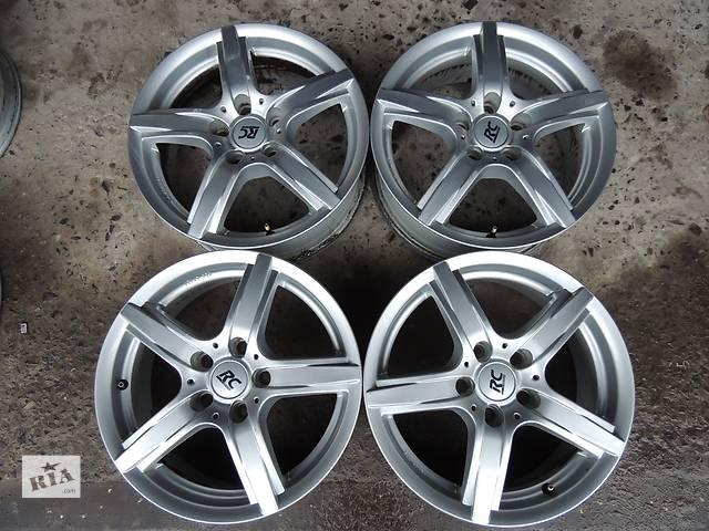купить бу Б/у диск RCD R16 5x112 6.5j et42 VW Golf Polo 5 6 7 Jetta Passat Audi A6 Skoda в Львове