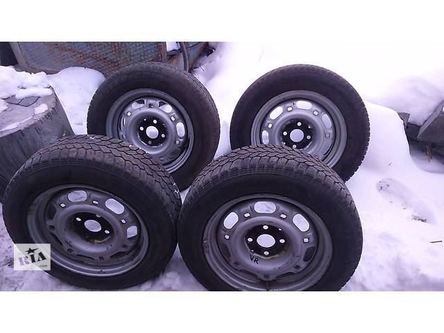 бу Б/у диск с шиной 14 зима для легкового авто Volkswagen Caddy в Житомире
