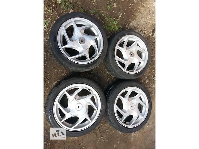 бу Б/у диск с шиной для Ford 4x108 резина 195/45/R15 в Коломые