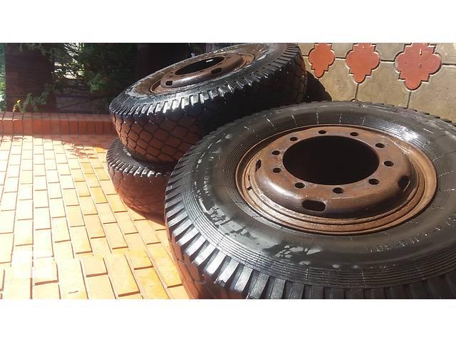бу Б/у диск с шиной для грузовика КамАЗ 6520 в Днепре (Днепропетровске)