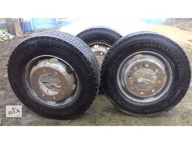 купить бу Б/у диск с шиной для грузовика в Сокирянах