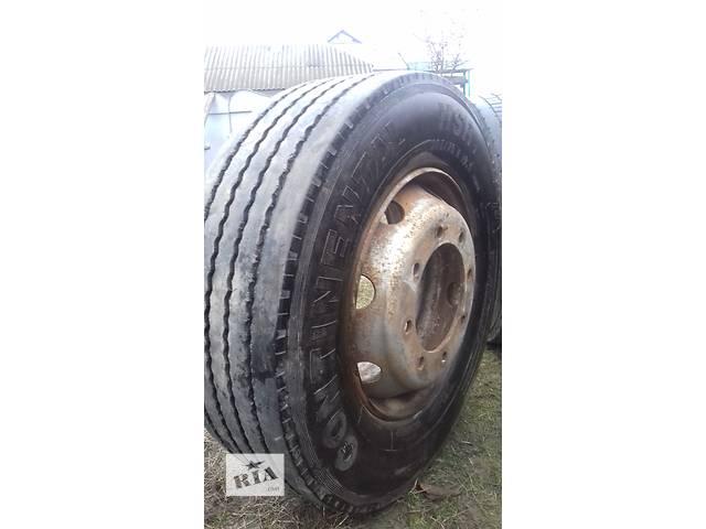 Б/у диск с шиной для грузовика- объявление о продаже  в Сокирянах