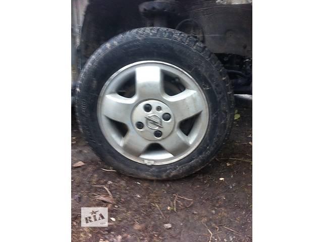 Б/у диск с шиной для хэтчбека Opel Astra G- объявление о продаже  в Ровно