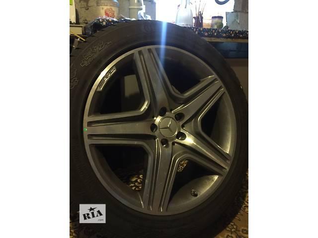 купить бу Б/у диск с шиной .4 штуки R 20 для кроссовера Mercedes CL 600 в Киеве