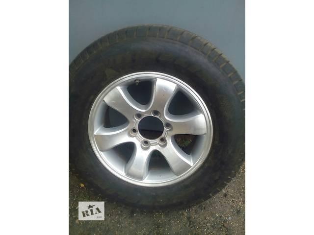 Б/у диск с шиной для кроссовера Toyota- объявление о продаже  в Червонограде