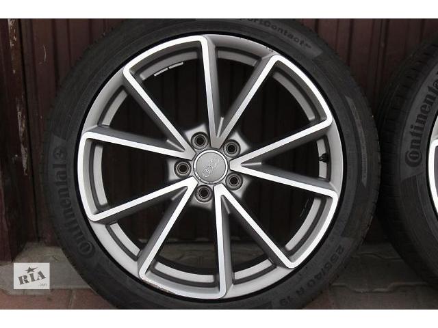Б/у диск с шиной для легкового авто Audi A6 S6 4G C7 255/40/19- объявление о продаже  в Ужгороде
