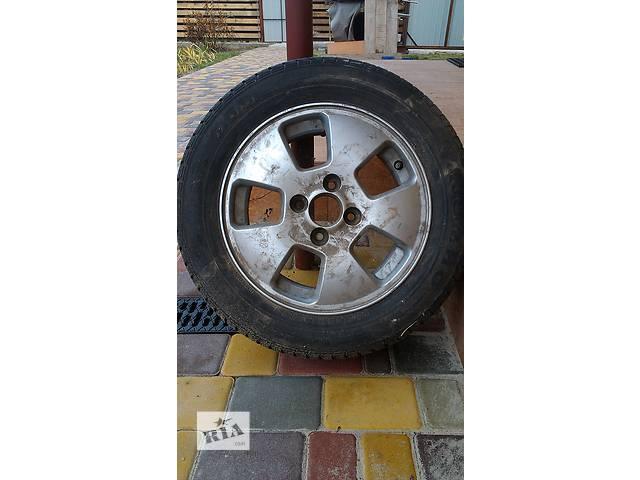 купить бу Б/у диск с шиной для легкового авто Chevrolet 14 радиус в Киеве