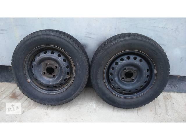 продам Б/у диск с шиной для легкового авто Daewoo Lanos бу в Полтаве