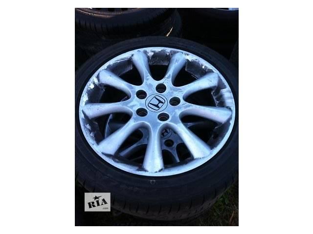 продам Б/у диск с шиной для легкового авто Honda Accord бу в Ровно