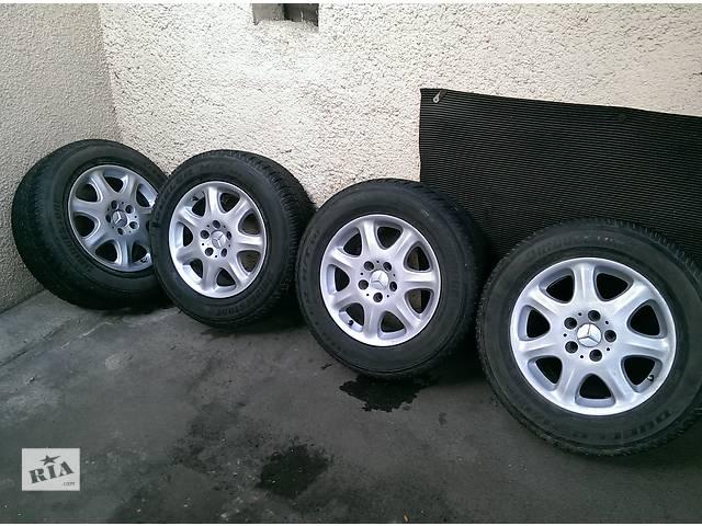 бу Б/у диск с шиной для легкового авто Mercedes S 430 в Одессе