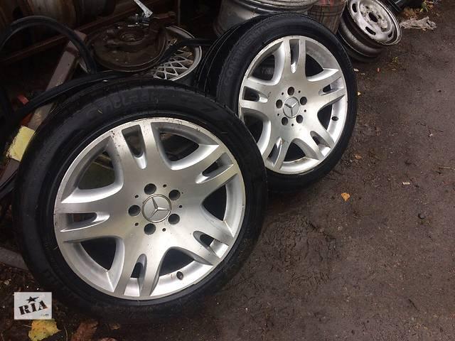 продам Б/у диск с шиной для легкового авто Mercedes w211 w210 (R17) бу в Умани