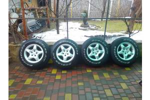 б/у диски с шинами Mercedes