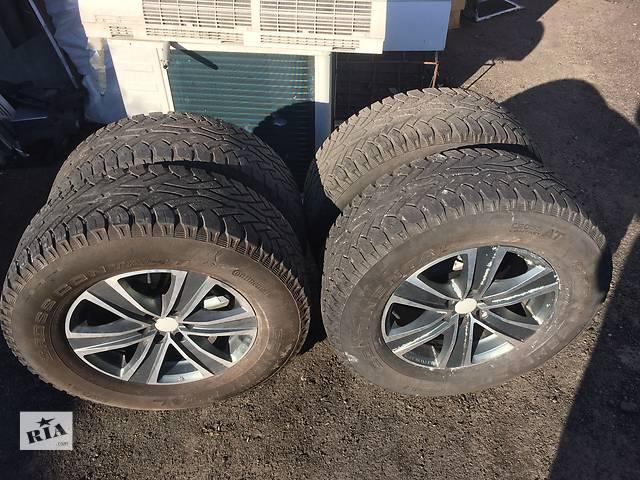 Б/у диск с шиной для легкового авто Nissan- объявление о продаже  в Днепре (Днепропетровске)