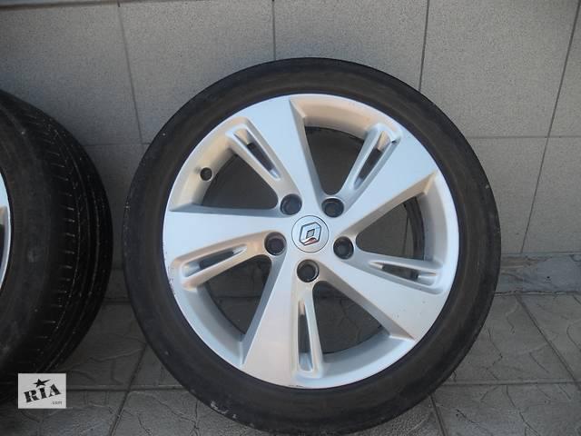продам Б/у диск с шиной для легкового авто Renault Megane III бу в Тернополе