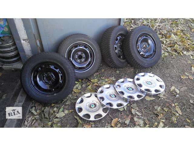 продам Б/у диск с шиной для легкового авто Skoda Fabia бу в Вольнянске