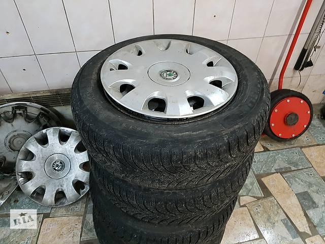 купить бу Б/у диск с шиной для легкового авто Skoda Octavia Tour в Киеве