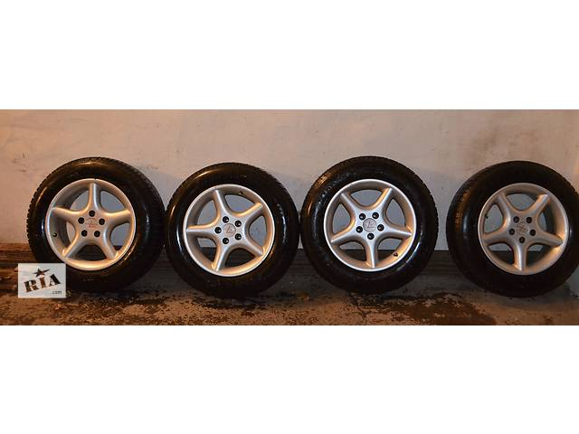 купить бу Б/у диск с шиной для легкового авто Skoda в Умани