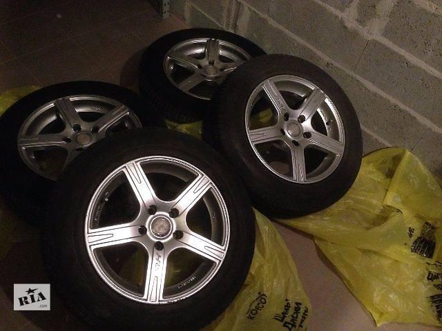 продам Диски Racing Wheels (RW)  б/у  для легкового авто,  с шиной. бу в Киеве