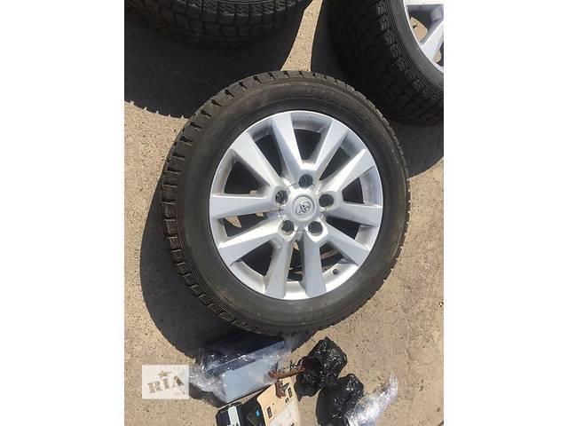 Б/у диск с шиной для легкового авто Toyota Land Cruiser 200- объявление о продаже  в Ровно