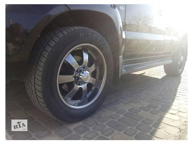 купить бу Б/у диск с шиной для легкового авто Toyota Land Cruiser Prado 120 в Ровно