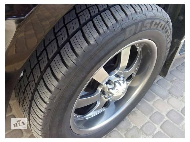 бу Б/у диск с шиной для легкового авто Toyota Land Cruiser Prado 120 в Ровно
