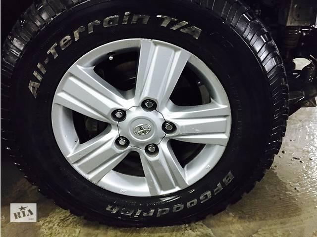 продам комплект дисков с шинами для авто Toyota 285/65 R18 бу в Чернигове