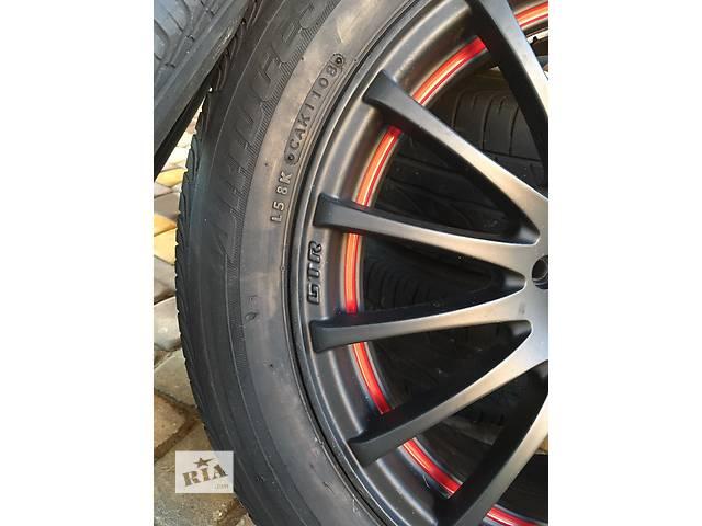 Б/у диск с шиной для легкового авто Toyota- объявление о продаже  в Трускавце