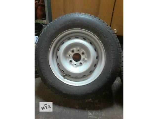 Б/у диск с шиной для легкового авто ВАЗ- объявление о продаже  в Нежине