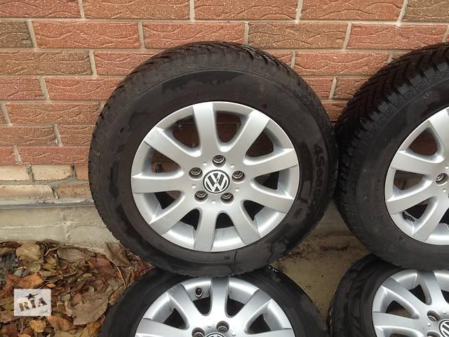 купить бу Б/у диск с шиной для легкового авто Volkswagen Caddy 195/65/r15 Goobyear в Ковеле