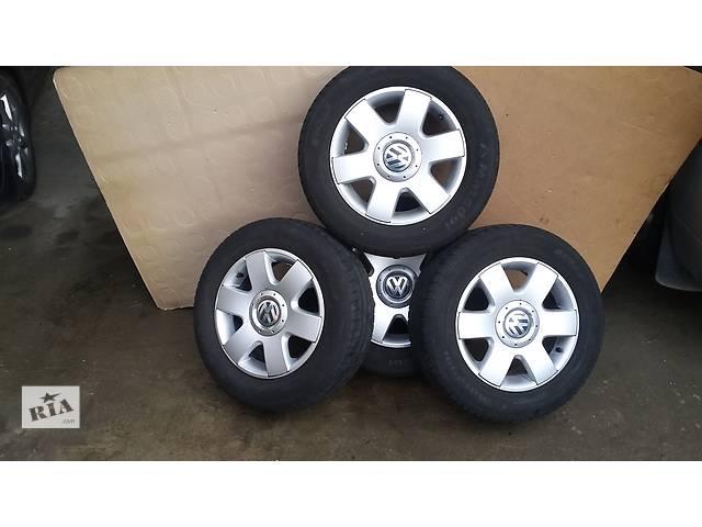 бу Б/у диск с шиной для легкового авто Volkswagen Caddy в Косове (Ивано-Франковской обл.)
