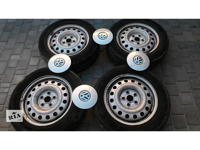 бу Б/у диск с шиной для легкового авто Volkswagen T4 (Transporter)  215/60/16  в Яворове (Львовской обл.)