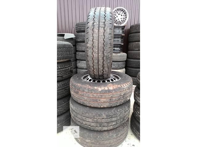 продам Б/у диск с шиной для легкового авто Volkswagen T5 (Transporter)  215/65/15 С , ПРОТЕКТОР 7.9 ММ бу в Львове