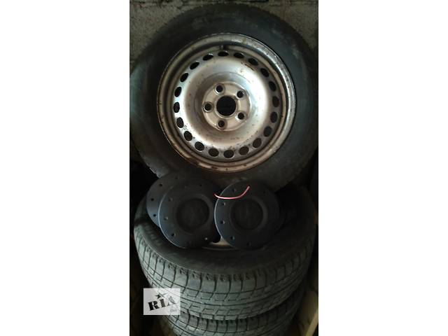 продам Б/у диск с шиной для легкового авто Volkswagen T5 (Transporter) бу в Днепре (Днепропетровск)