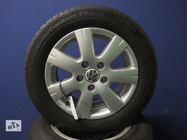 бу Б/у диск с шиной для легкового авто Volkswagen в Глухове (Сумской обл.)