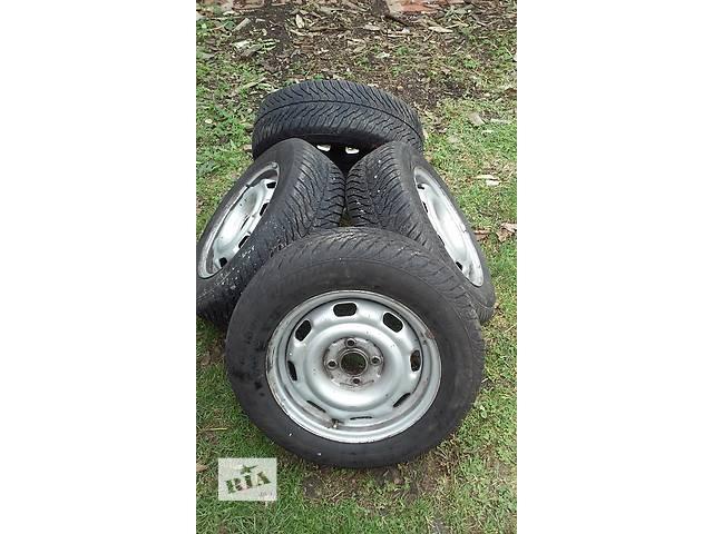 бу Б/у диск с шиной для легкового авто Volkswagen  в Дрогобыче