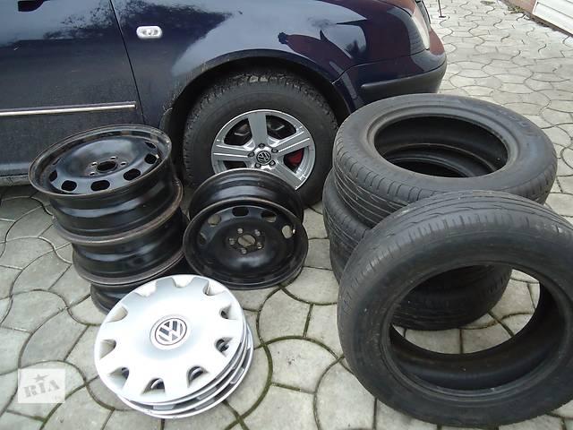 Б/у диск с шиной для легкового авто Volkswagen- объявление о продаже  в Ахтырке