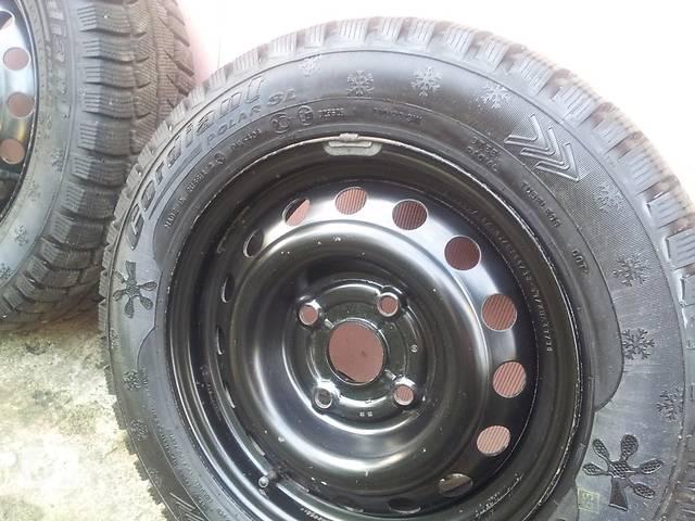 Б/у диск с шиной для легкового авто ЗАЗ Lanos Sedan- объявление о продаже  в Запорожье