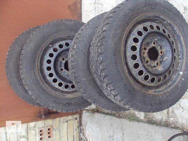 бу Б/у диск с шиной для легкового авто в Львове